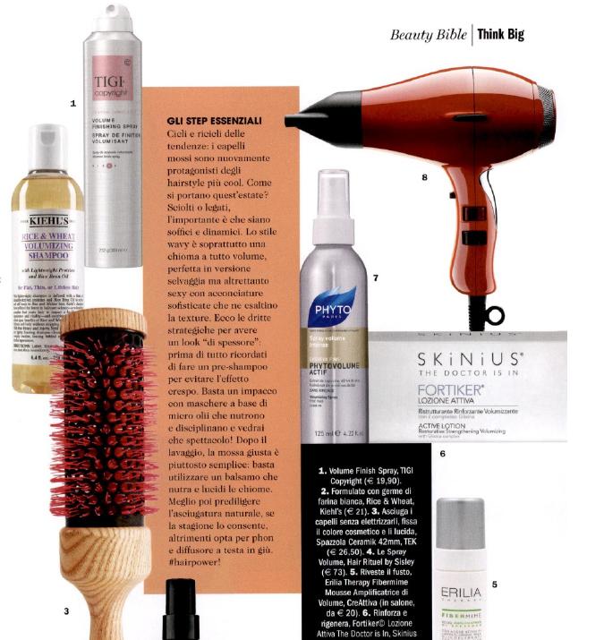 Prodotti consigliati per i capelli in estate: lo shampoo rinforzante con Glixina