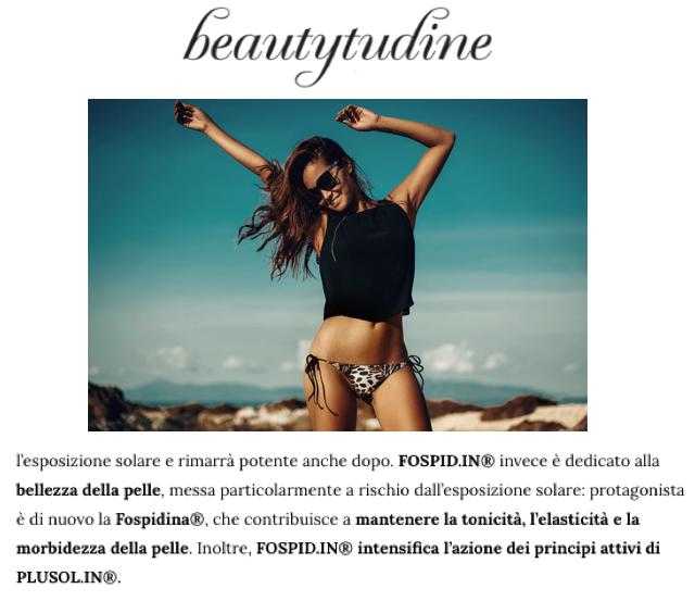 anche su Beautytude si parla dell'integratore per la pelle con biotina di skinius