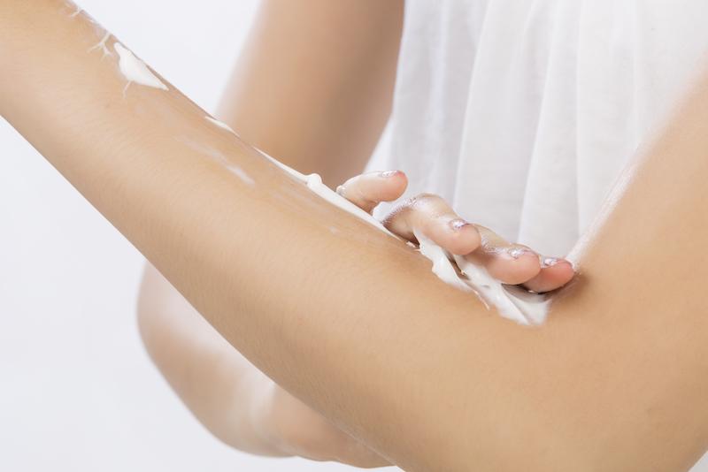 Creme e altri prodotti cosmetici da usare contro la pelle secca