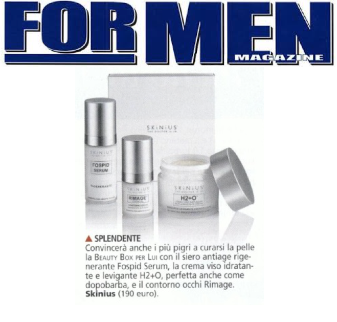 Beauty box per lui - for men