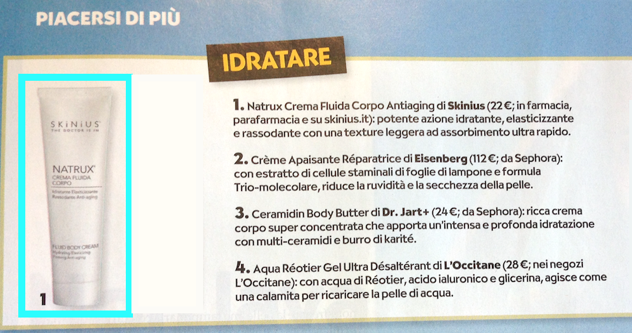 I prodotti consigliati per mantenere a lungo l'abbronzatura
