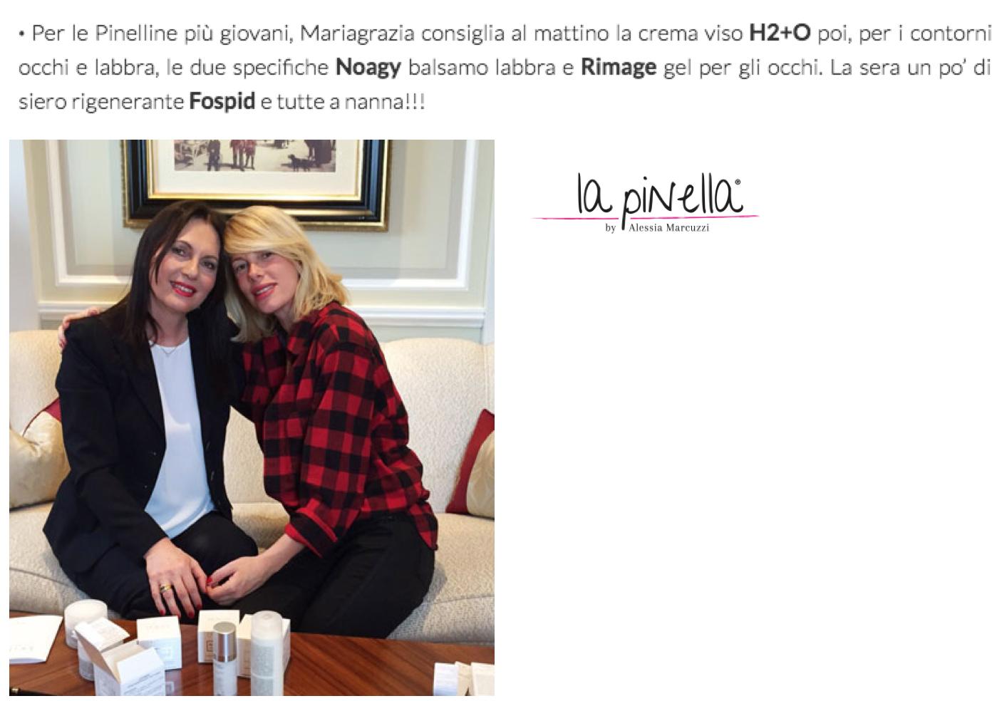 recensione Alessia Marcuzzi Rimage skinius