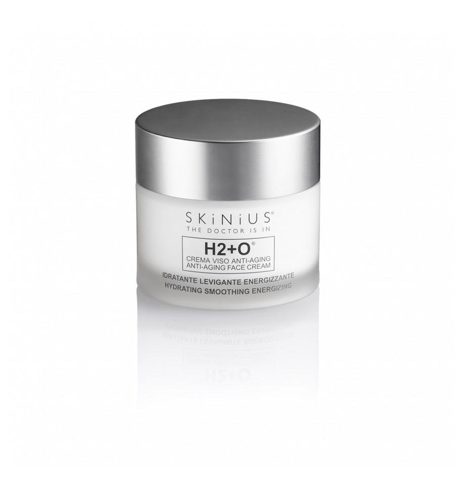 H2+O® è la crema viso idratante di Skinius, perfetta per tutti i tipi di pelle