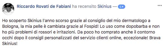 riccardo-fabiani-recensione-facebook-skinius