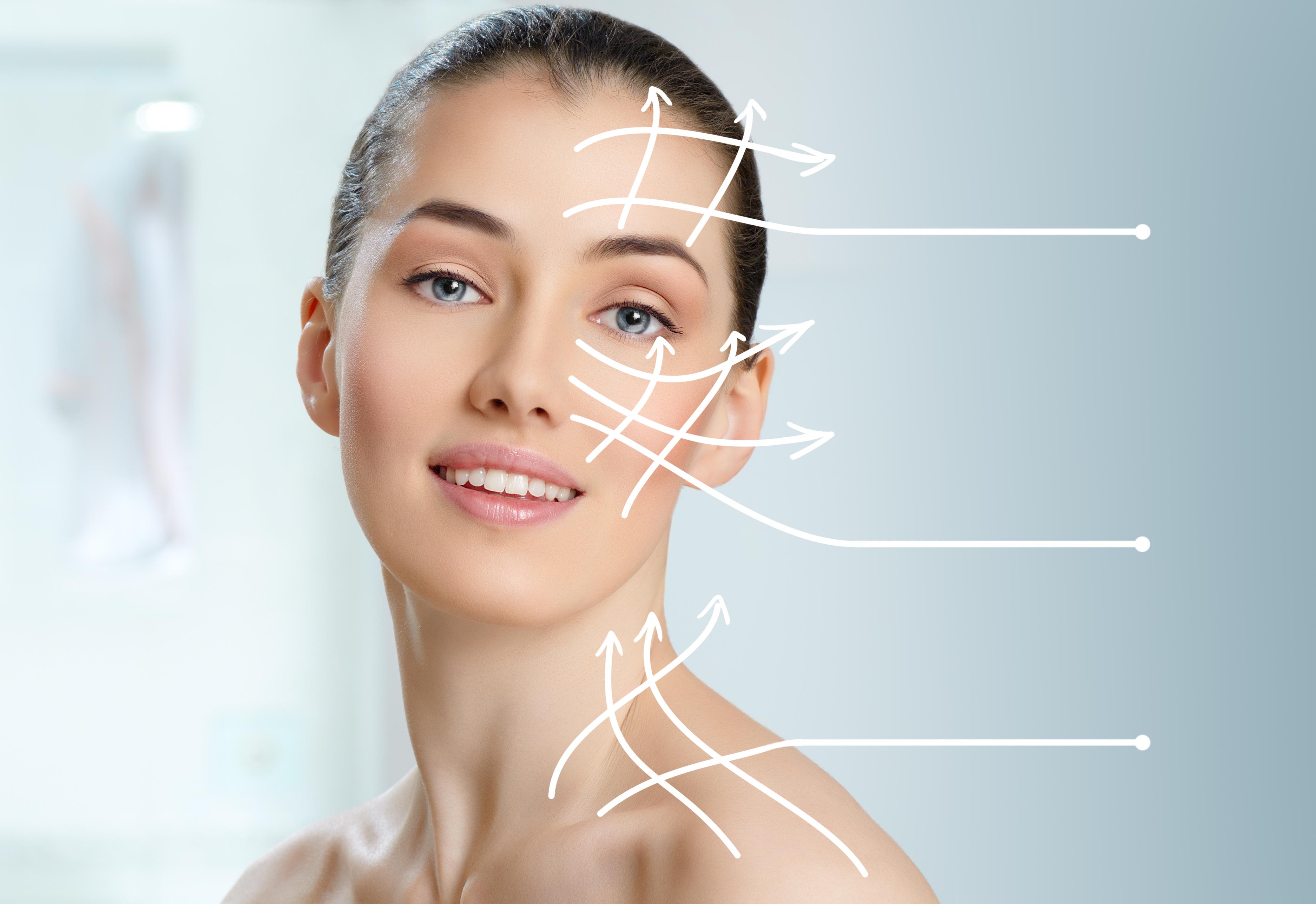 Il siero per il viso svolge un'azione antirughe, idratando in profondità la pelle