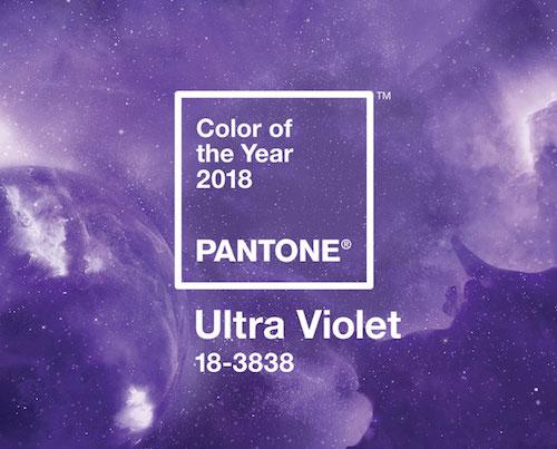 Pantone Ultra Violet colore 2018